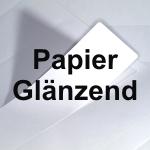 Papier glänzend