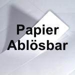 Papier wiederablösbar