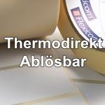 Thermodirekt Papier ablösbar