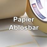 Papier ablösbar