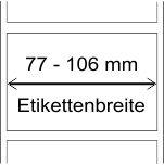 77 - 106 mm Breite
