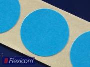 Markierungspunkte, blau