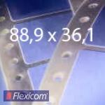 EDV-Etiketten 88,9 x 36,1 mm, 1-bahnig