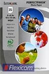 Lexmark Fotopapier 10x15 hochglänzend 35 Blatt