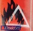 Pictogrammetiketten, taktiles Warnsymbol, 30x40 mm