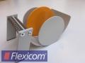 Manuelles Tischspendegerät für Rollenetiketten, orange