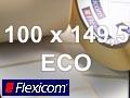Flexicom Rollenetiketten, Format 100 x 149,5 mm, Papier Thermo Eco