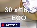 Flexicom Rollenetiketten, Format 30 x 16,5 mm, Papier Thermo Eco