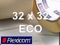 Flexicom Rollenetiketten, Format 32 x 32 mm, Papier Thermo Eco