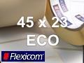 Flexicom Rollenetiketten, Format 45 x 23 mm, Papier Thermo Eco