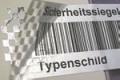Sicherheits-Rollenetiketten für Desktopdrucker, Format 50 x 30 mm