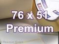 Zebra Rollenetiketten, Format 76 x 51 mm, Z-Select 2000T