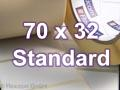 Zebra Rollenetiketten, Format 70 x 32 mm, Z-Perform 1000T