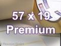Zebra Rollenetiketten, Format 57 x 19 mm, Z-Select 2000T