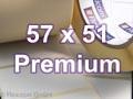 Zebra Rollenetiketten, Format 57 x 51 mm, Z-Select 2000T