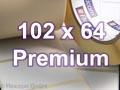 Zebra Rollenetiketten, Format 102 x 64 mm, Z-Select 2000T