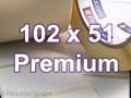 Zebra Rollenetiketten, Format 102 x 51 mm, Z-Select 2000T