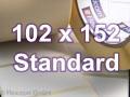 Zebra Rollenetiketten, Format 102 x 152 mm, Z-Perform 1000T
