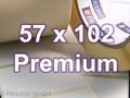 Zebra Rollenetiketten, Format 57 x 102 mm, Z-Select 2000D Thermodirekt