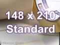 Zebra Rollenetiketten, Format 148 x 210 mm, Z-Perform 1000D Thermodirekt