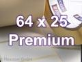 Zebra Rollenetiketten, Format 64 x 25 mm, Z-Select 2000T