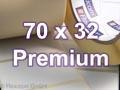 Zebra Rollenetiketten, Format 70 x 32 mm, Z-Select 2000T