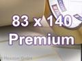 Zebra Rollenetiketten, Format 83 x 140 mm, Z-Select 2000T