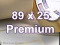 Zebra Rollenetiketten, Format 89 x 25 mm, Z-Select 2000T