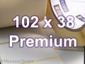 Zebra Rollenetiketten, Format 102 x 38 mm, Z-Select 2000T