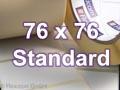 Zebra Rollenetiketten, Format 76 x 76 mm, Z-Perform 1000T