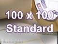 Zebra Rollenetiketten, Format 100 x 100 mm, Z-Perform 1000T