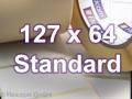 Zebra Rollenetiketten, Format 127 x 64 mm, Z-Perform 1000T