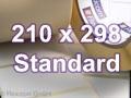 Zebra Rollenetiketten, Format 210 x 298 mm, Z-Perform 1000T