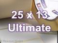 Zebra Rollenetiketten, Format 25 x 13 mm, Z-Ultimate 3000T White