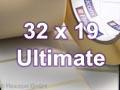 Zebra Rollenetiketten, Format 32 x 19 mm, Z-Ultimate 3000T White