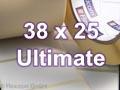 Zebra Rollenetiketten, Format 38 x 25 mm, Z-Ultimate 3000T White