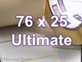 Zebra Rollenetiketten, Format 76 x 25 mm, Z-Ultimate 3000T White