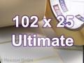 Zebra Rollenetiketten, Format 102 x 25 mm, Z-Ultimate 3000T White