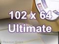 Zebra Rollenetiketten, Format 102 x 64 mm, Z-Ultimate 3000T White