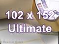 Zebra Rollenetiketten, Format 102 x 152 mm, Z-Ultimate 3000T White