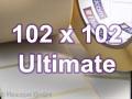 Zebra Rollenetiketten, Format 102 x 102 mm, Z-Ultimate 3000T Silver