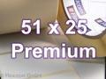Zebra Rollenetiketten, Format 51 x 25 mm, Z-Select 2000T