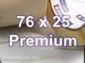 Zebra Rollenetiketten, Format 76 x 25 mm, Z-Select 2000T