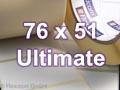 Zebra Rollenetiketten, Format 76 x 51 mm, Z-Ultimate 3000T White