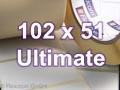 Zebra Rollenetiketten, Format 102 x 51 mm, Z-Ultimate 3000T White