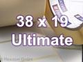 Zebra Rollenetiketten, Format 38 x 19 mm, Z-Ultimate 3000T Silver