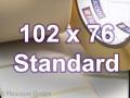 Zebra Rollenetiketten, Format 102 x 76 mm, PolyE 3100T Gloss