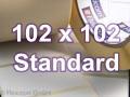 Zebra Rollenetiketten, Format 102 x 102 mm, PolyE 3100T Gloss