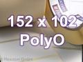 Zebra Rollenetiketten, Format 152 x 102 mm, PolyO 3100T