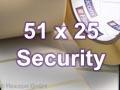 Zebra Rollenetiketten, Format 51 x 25 mm, 8000T Void Matte